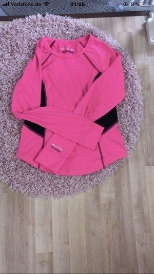 Hollister Lang shirt roze