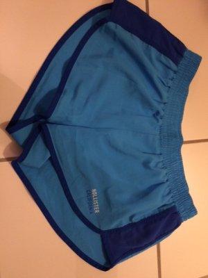 Hollister Sporthose kurze Hose blau