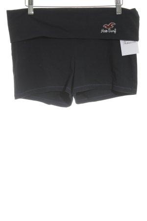 Hollister Pantalón corto deportivo azul oscuro estilo deportivo