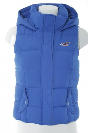 Hollister Quilted Gilet blue casual look