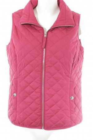 Hollister Steppweste magenta Steppmuster Casual-Look