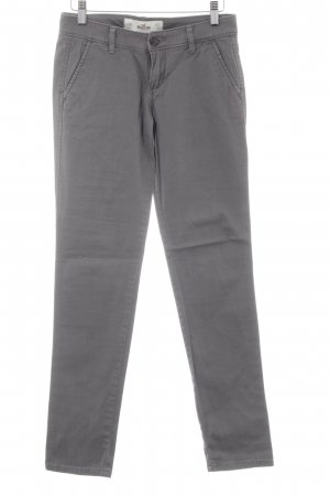 Hollister Straight-Leg Jeans grau Casual-Look