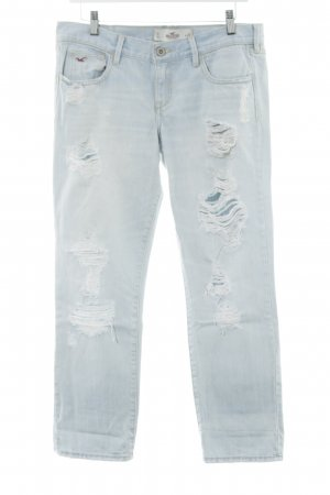 Hollister Straight-Leg Jeans himmelblau Casual-Look