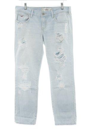 Hollister Straight-Leg Jeans himmelblau Casual-Look