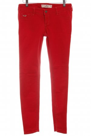 Hollister Stretch Jeans rot Casual-Look