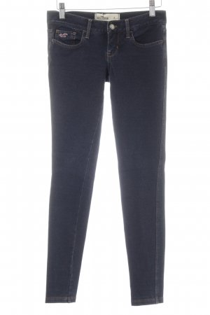 Hollister Stretchhose dunkelblau Casual-Look