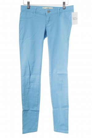 Hollister Stretchhose hellblau Casual-Look