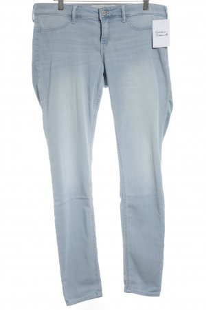 Hollister Stretchhose himmelblau Casual-Look