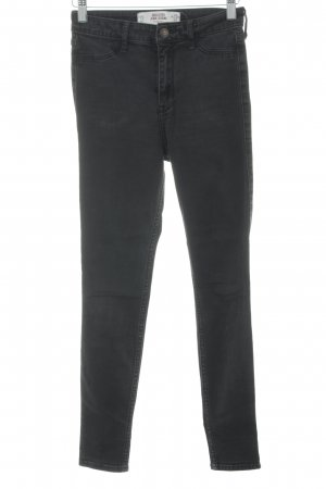 Hollister Stretch Trousers black Metal buttons