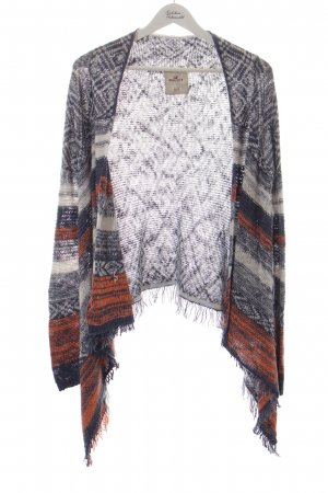 Hollister Strick Cardigan Mustermix Ethno-Look