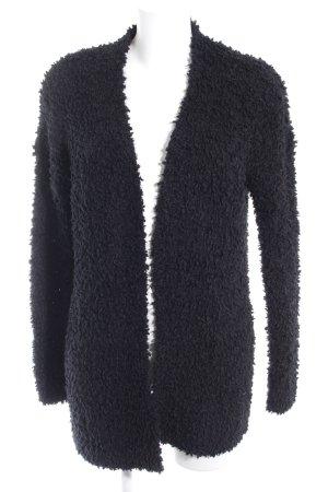 Hollister Knitted Blazer black fluffy