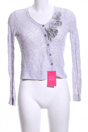 Hollister Knitted Bolero white casual look