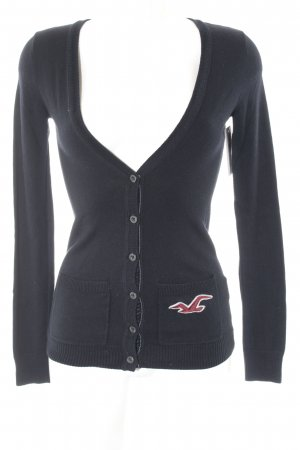 Hollister Strickjacke dunkelblau Casual-Look