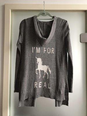 Hollister Giacca in maglia grigio
