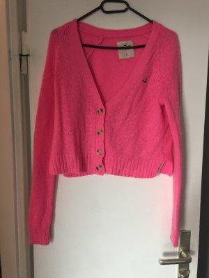 Hollister Strickjacke Pink L