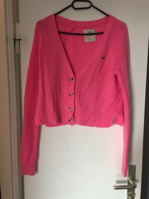 Hollister Strickjacke Pink L