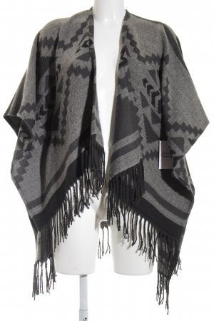 Hollister Strickponcho Ethnomuster Gypsy-Look