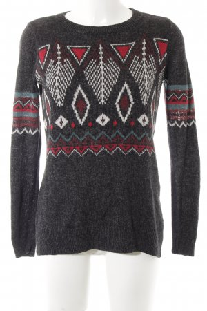 Hollister Strickpullover abstraktes Muster Casual-Look