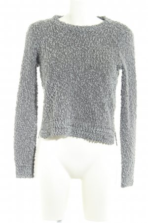 Hollister Strickpullover anthrazit-grau Casual-Look