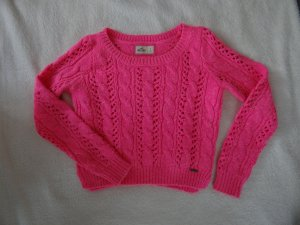 Hollister Strickpullover in Pink