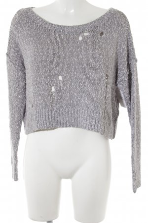 Hollister Strickpullover meliert Casual-Look