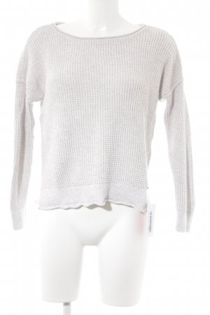 Hollister Strickpullover wollweiß Casual-Look