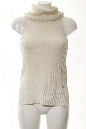 Hollister Knitted Top cream casual look
