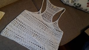 Hollister Knitted Top white