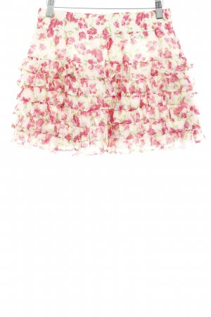 Hollister Broomstick Skirt flower pattern street-fashion look