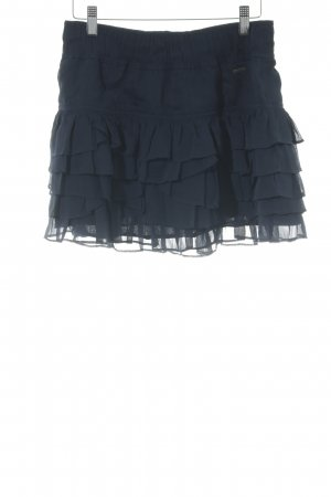 Hollister Broomstick Skirt dark blue casual look