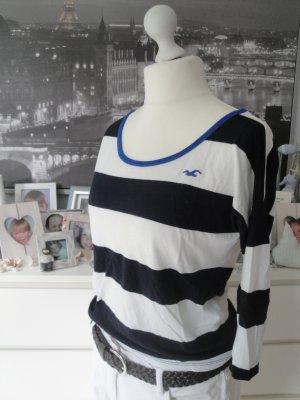 Hollister * Süßer Sommer Sweater Longsleeve * dunkelblau-weiß Möwe * S=36/38 TOP
