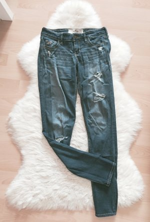 Hollister Super Skinny Jeans Destroyed W24 L29