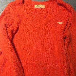 Hollister Sweater Top Orange