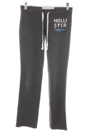 Hollister Sweat Pants grey simple style