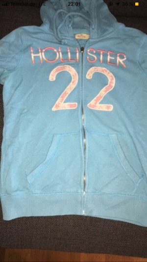 Hollister Giacca fitness azzurro