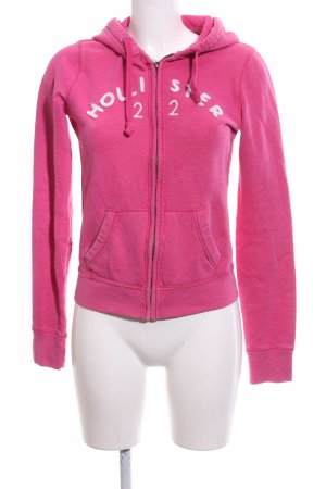 Hollister Sweatjack roze atletische stijl