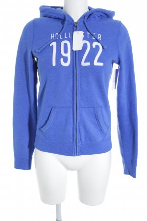 Hollister Sweat Jacket blue casual look