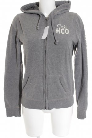Hollister Sweatjacke grau Casual-Look