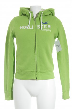 Hollister Sweatjacke grün Casual-Look