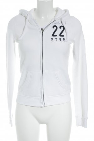 Hollister Sweatjacke weiß Casual-Look