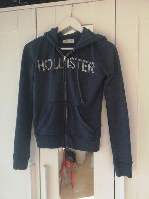 Hollister Sweatjacke XS Blau Jacke