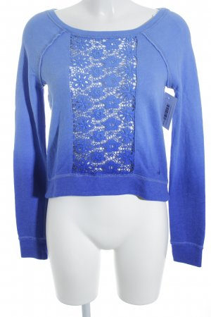 Hollister Sweatshirt blau Casual-Look