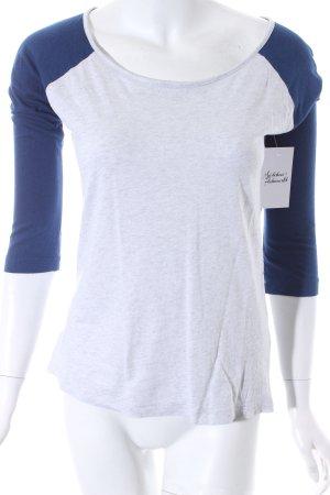 Hollister Sweatshirt dunkelblau-weiß meliert Casual-Look