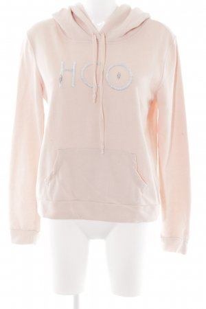 Hollister Suéter rosa look casual