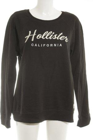 Hollister Sweatshirt schwarz Casual-Look