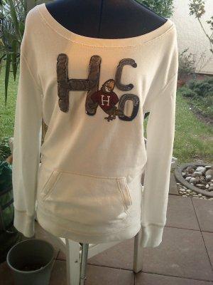 Hollister Sweatshirt wollweiß Größe M