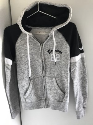 Hollister Veste sweat gris