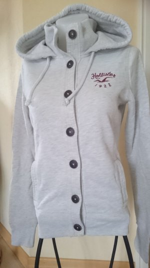 Hollister Giacca fitness argento