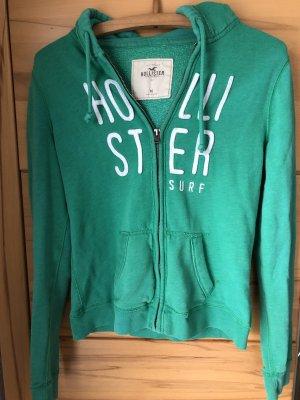 Hollister Chaqueta estilo camisa verde