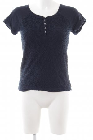 Hollister T-Shirt blau Casual-Look